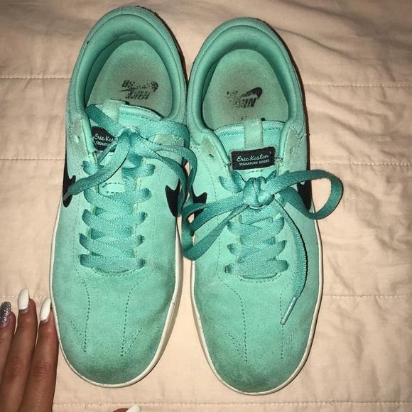 Nike Shoes | Sb Green Glow Sneakers